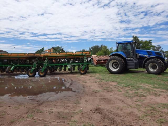 Negocian implementos agrícolas con cheques sin fondos de bancos de Capital Federal y las recuperan en Salliquelo