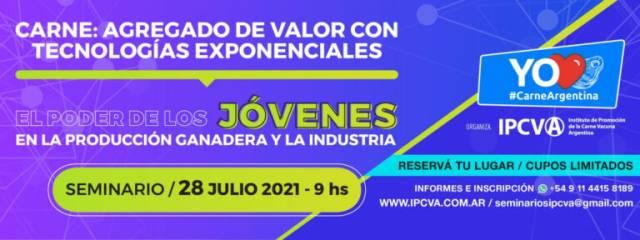 Está confirmado un nuevo Seminario del IPCVA para el 29 de Julio