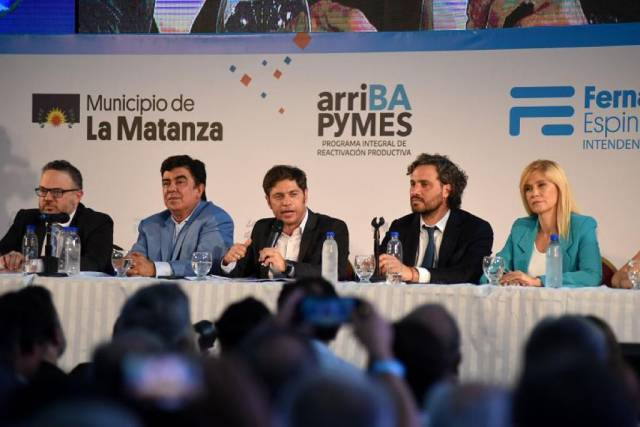 Kicillof presentó ¨arriBA PyMES¨: El crédito productivo de la provincia de Buenos Aires
